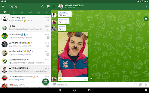 ZapZap Messenger APK for Bluestacks