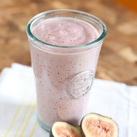 Fresh Fig Greek Yogurt Smoothie