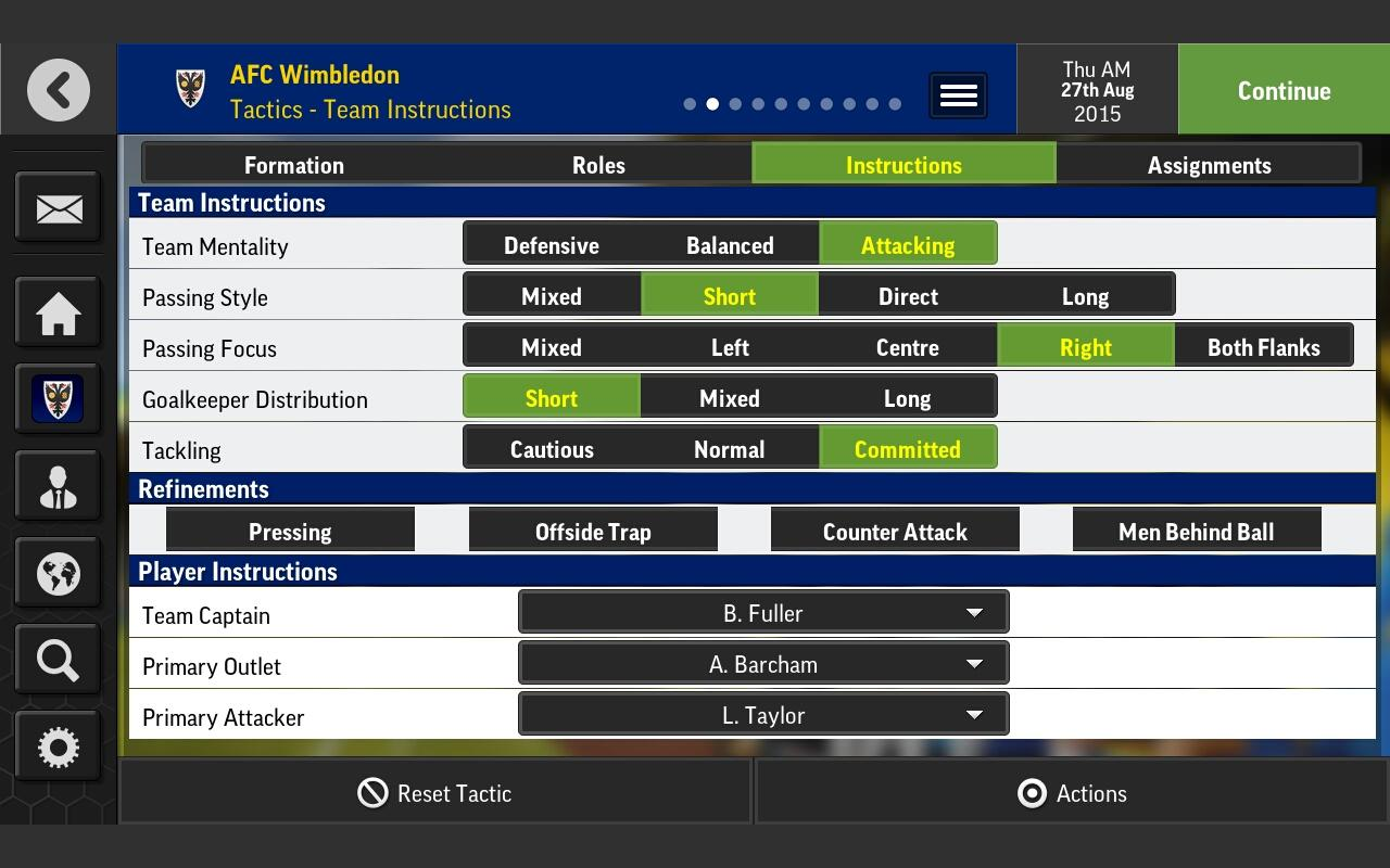 Football Manager Mobile 2016 Screenshot 11