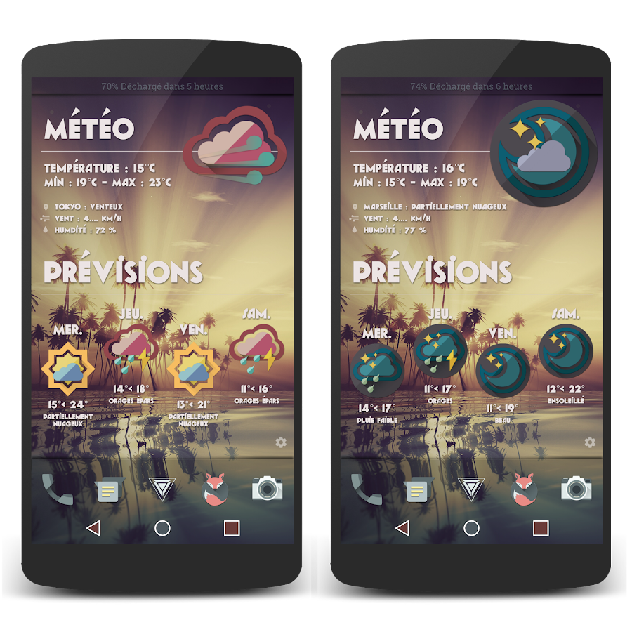 Retro Meteo Widgets by LP Screenshot 4