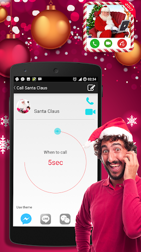 Video Call from Santa Claus For PC