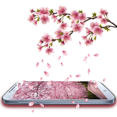 Romantic Sakura Live Wallpaper APK for Bluestacks