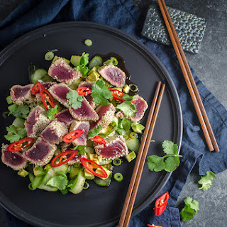 Seared Tuna Avocado Sauce Recipes