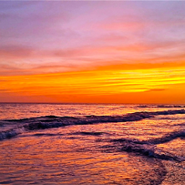 { The Beach @ Sunset ~ 26 July }  by Jeffrey Lee - Landscapes Sunsets & Sunrises ( { the beach @ sunset ~ 26 july } )