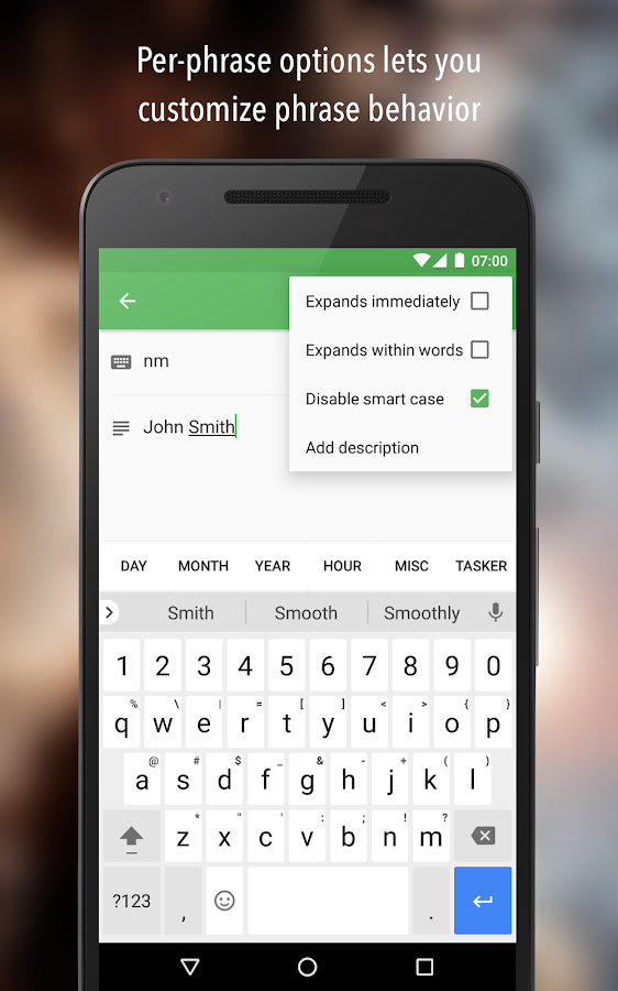 Texpand Pro - Text Shortcuts Screenshot 3