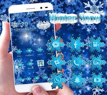 APK App Winter snow Theme snow xmas for BB, BlackBerry
