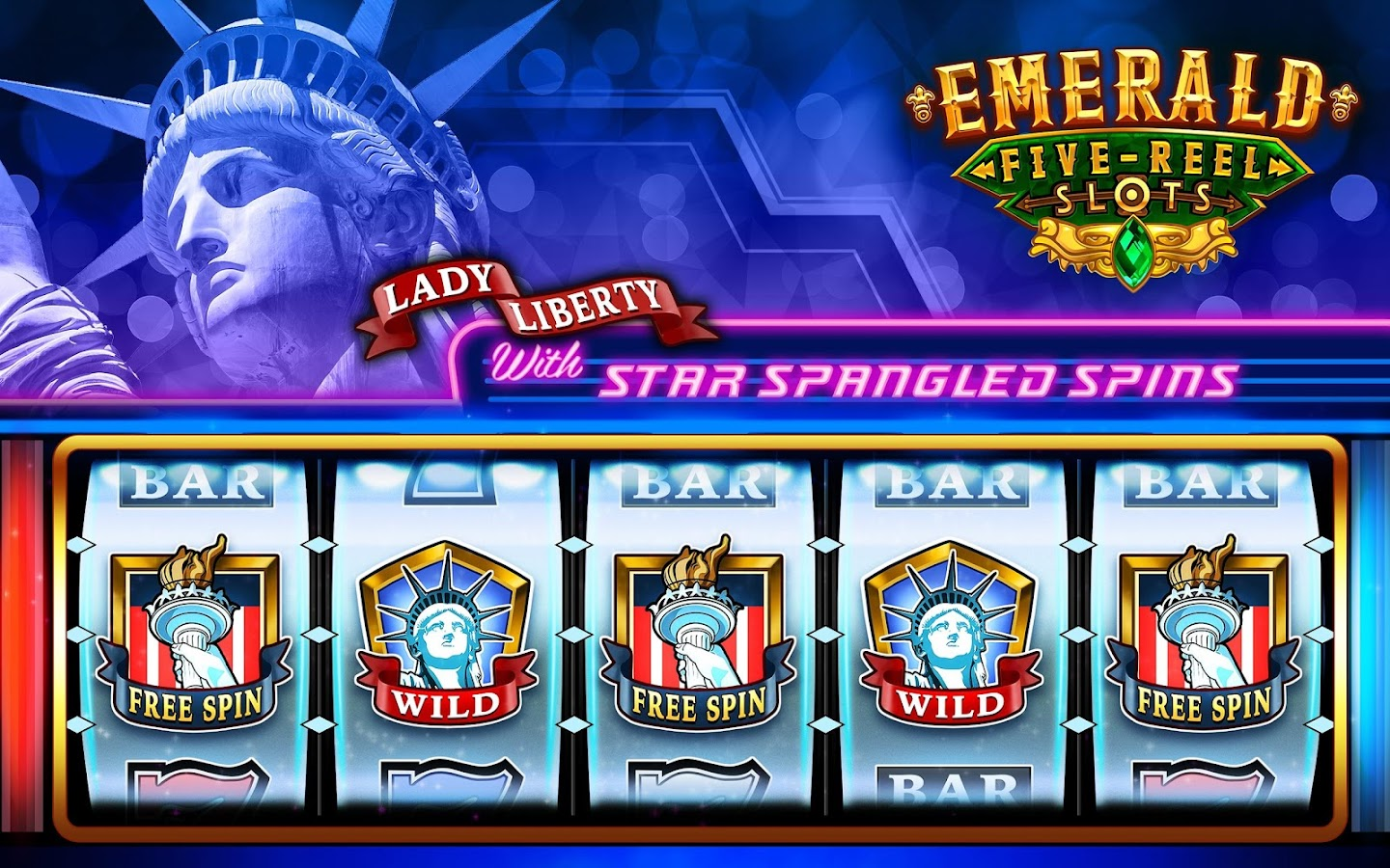 Emerald 5-Reel Free Slots Screenshot 7