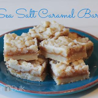 Caramel Bars Sea Salt Recipes