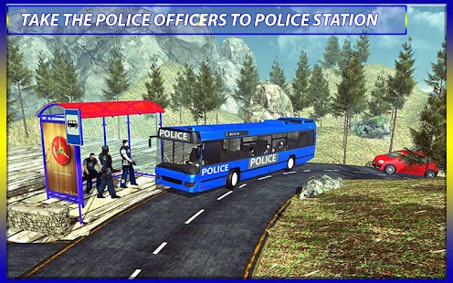 Police Bus Drive Prison Duty - screenshot