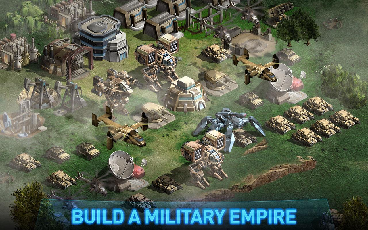 War of Nations: PvP Domination Screenshot 1
