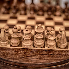 Ready For Attack by Marco Bertamé - Artistic Objects Other Objects ( chess,  )