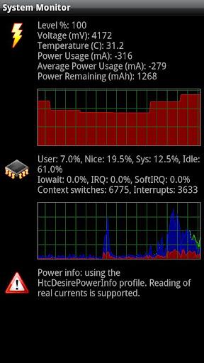 System Monitor screenshot 1