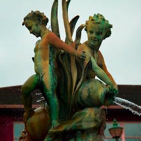 Fountain by Meeta Thakur - Artistic Objects Other Objects ( water, fountain, artistic, thoughtful, attraction )