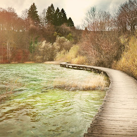 Autumn fairy tale by Rebeka Legovic - Landscapes Travel ( plitvička jezera, plitvice, waterscape, autumn, landscape photography, travel, landscapes, travel photography, hrvatska )