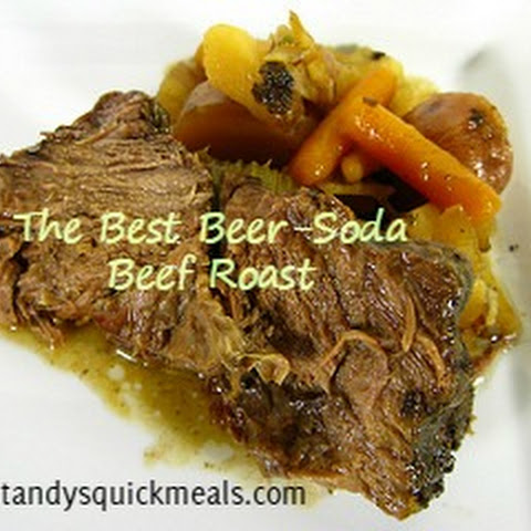 The Best Beer-Soda Beef Roast