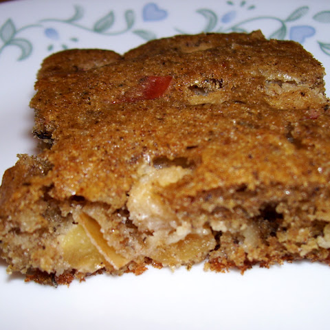 Apple Coconut Buckwheat Bars