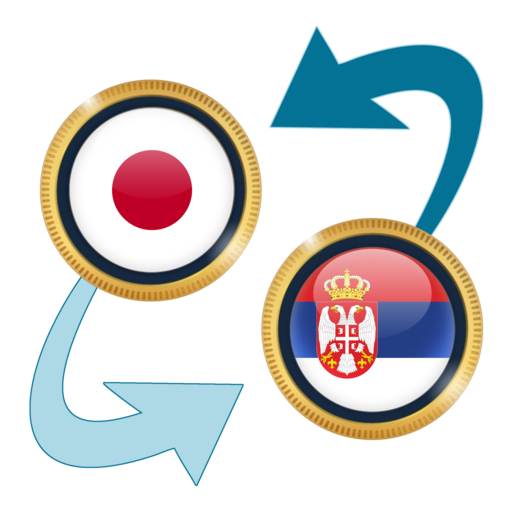 Android aplikacija Japan Yen x Serbian Dinar