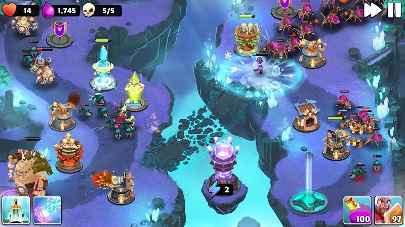 Castle Creeps TD - Epic tower defense Screenshot 4