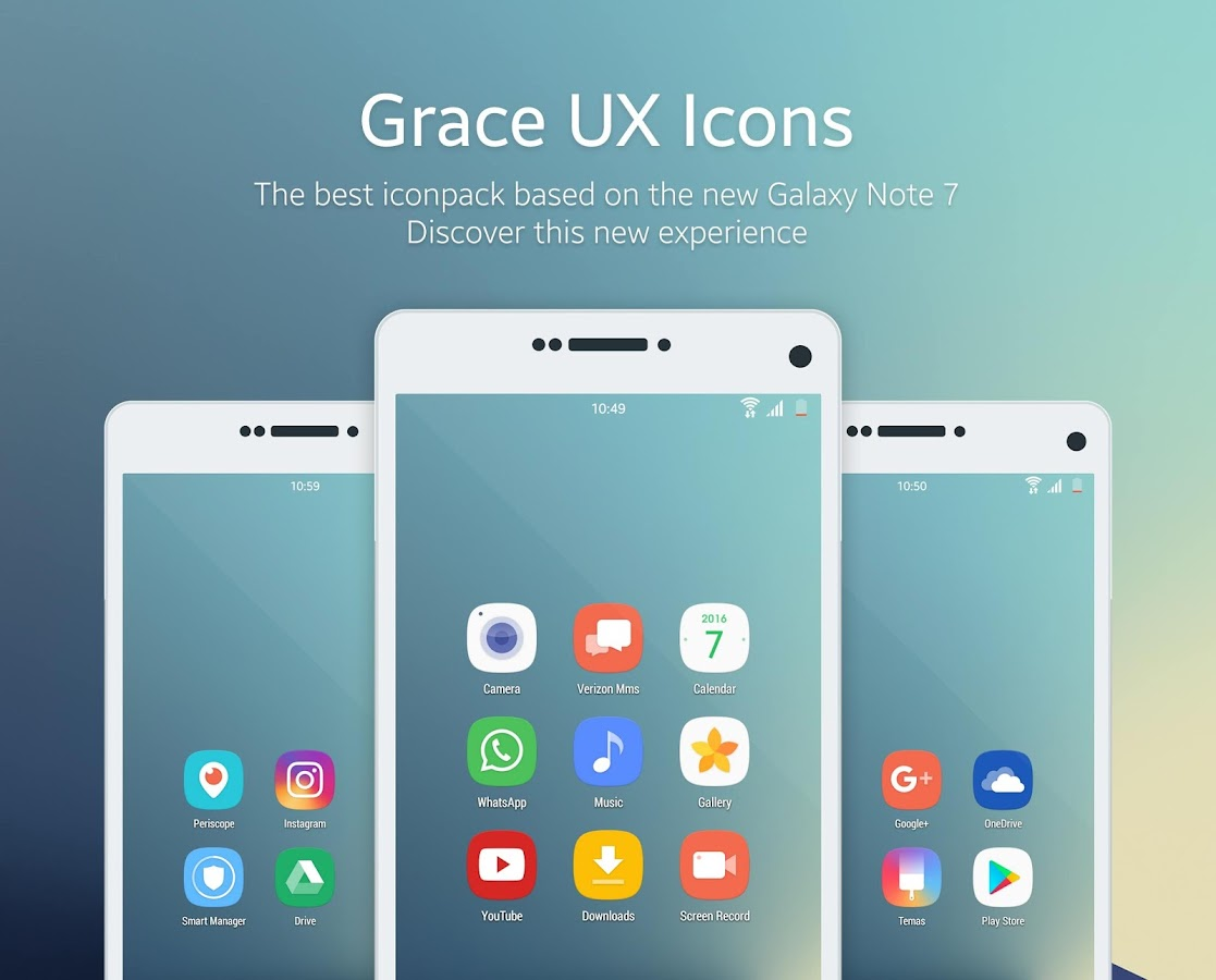 Grace UX - Icon Pack Screenshot 0