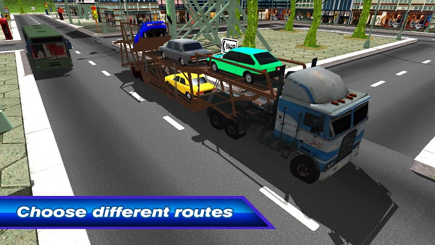 android Car Transporter Truck 3D Screenshot 1