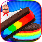 Free Rainbow Ice Cream Sandwiches APK for Windows 8