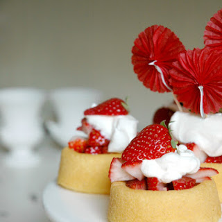 Strawberry Whipped Cream Dessert Shells Recipes