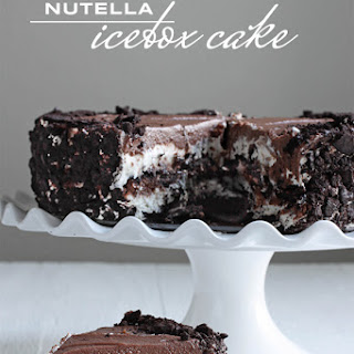 Nutella Icebox Cake