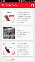 Screenshot of Paragon Footwear