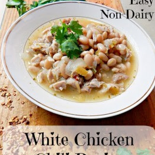 Easy Non Dairy White Chicken Chili