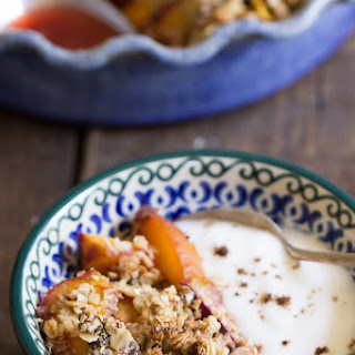 Stone Fruit Quinoa Crumble
