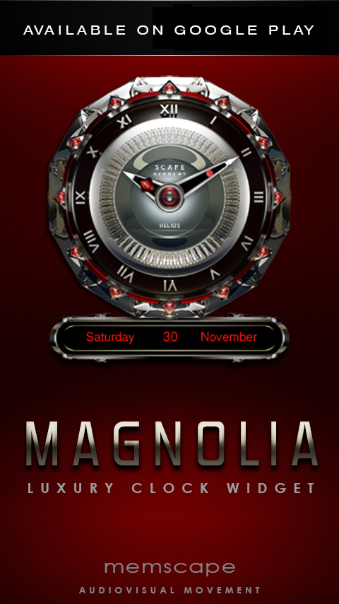 MAGNOLIA Next Launcher Theme Screenshot 4
