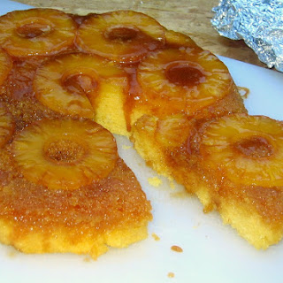 Dutch Oven Pineapple Upside-Down Cake