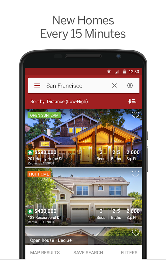 Redfin Real Estate Screenshot 1