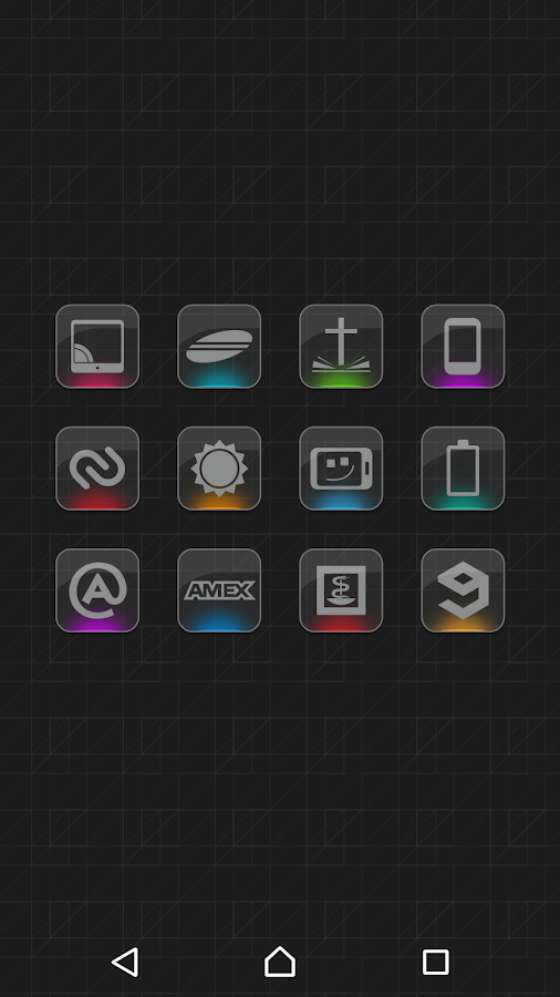 Color Gloss - Icon Pack Screenshot 0