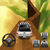 Mountain 4x4 Climb Icon