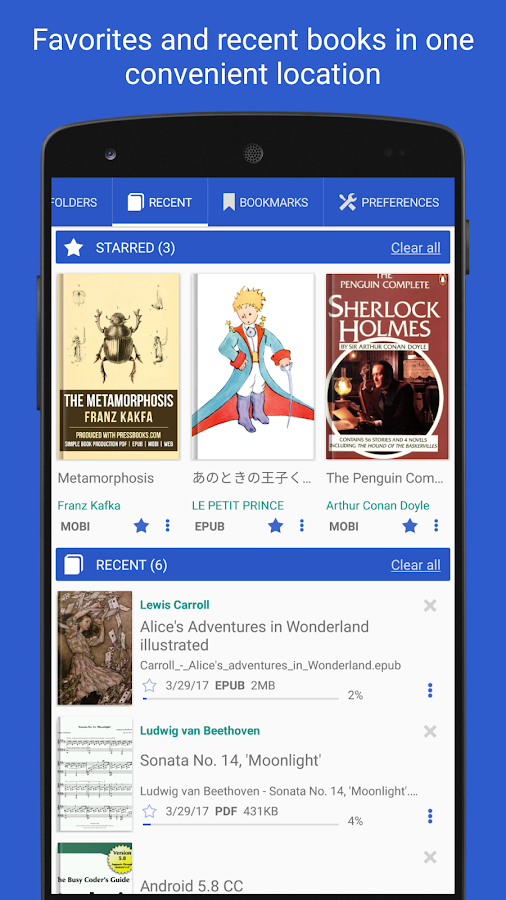 Librera PRO. Leading Book Reader (no Ads) Screenshot 2
