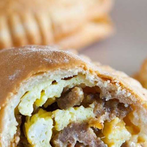 Sausage Egg and Cheese Mini Hand Pies