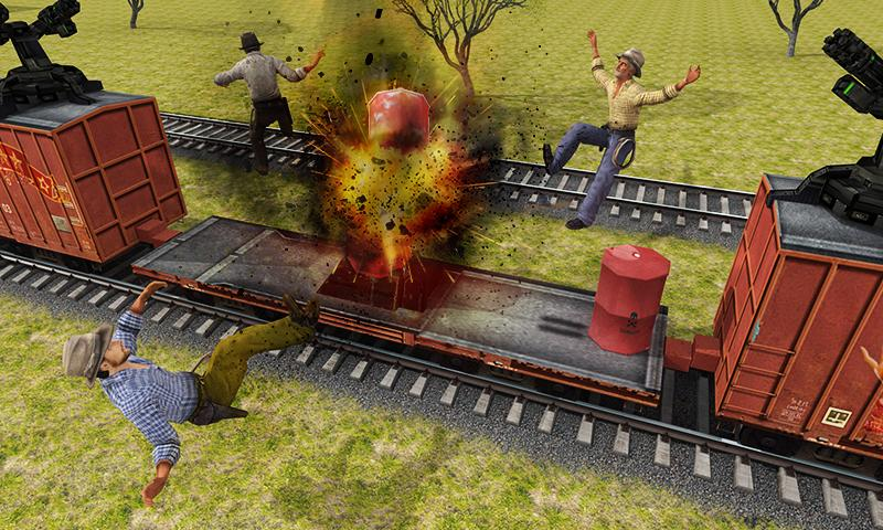 Furious Train Sniper 2016 Screenshot 3