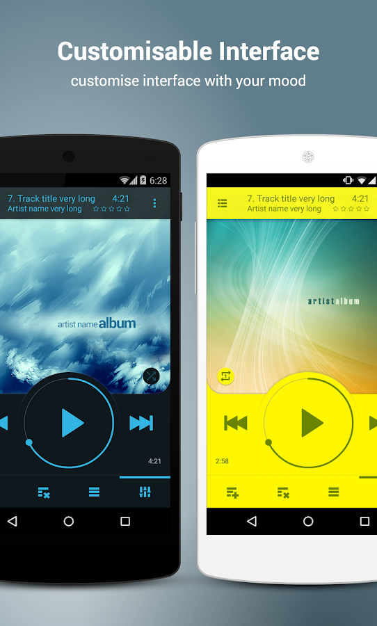 NRG Player music player Screenshot 1
