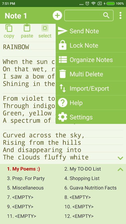 Notepad Pro Screenshot 3