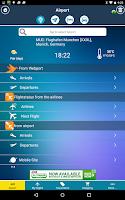 Screenshot of Munich Airport + Radar (MUC)