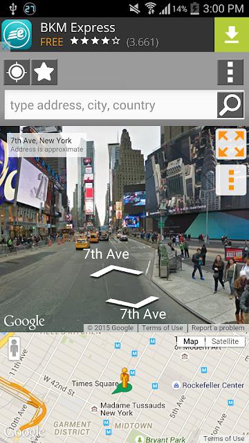 Street Panorama View screenshots