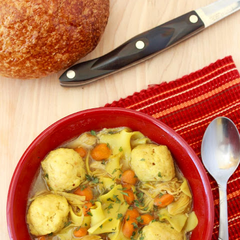 Chicken and Matzo Ball Soup