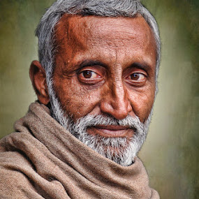 AFGAN by Angelito Cortez - People Portraits of Men ( old, portrait, man )