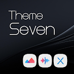 Seven Black Theme + Icons file APK Free for PC, smart TV Download