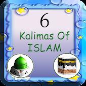 Download 6 Kalimas In Islam(Six kalima) APK on PC