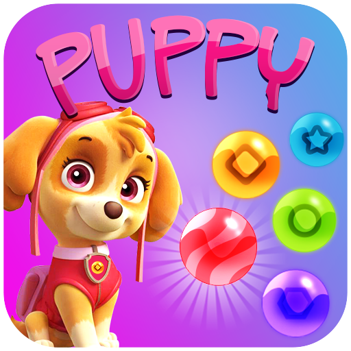 Puppy Bubble Shooter (game)