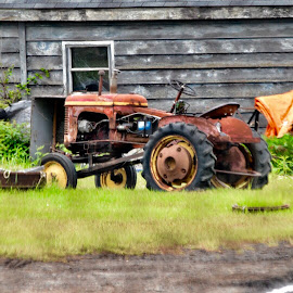 Seen better days by Debbie Squier-Bernst - Transportation Other