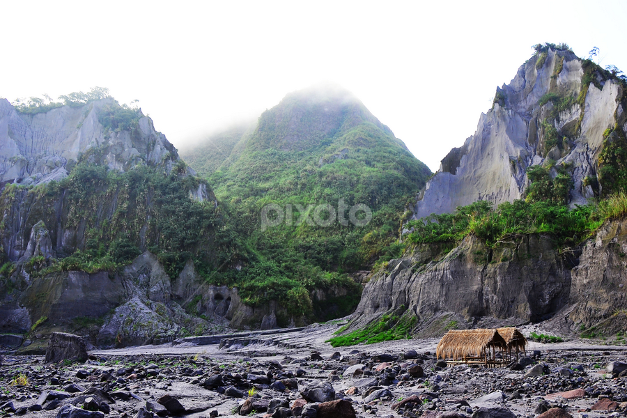 Capas Tarlac by Fresco Jr Linga - Landscapes Mountains & Hills