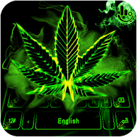 Neon Weed Keyboard Theme on PC / Windows 7.8.10 & MAC